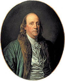 image of portrait of Ben Franklin